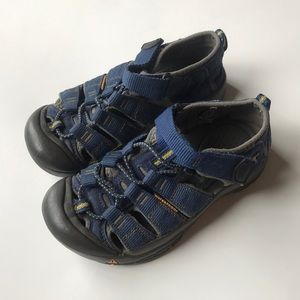 Boys blue keen water sandal shoes toddler 13